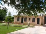 Fachada de La Casita del Jardín.