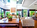 Large glazed areas provide lots of natural light