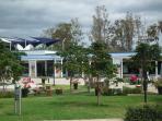 Hypermarket & coffe shop 3km from villa