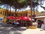 Elviria has an array of restaurants, cafes and shops
