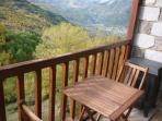 Terraza del salón con maravillosas vistas