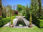 Relax and enjoy the formal gardens with a good book or just soak up the history
