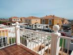 Balkon des Doppelbettzimmers