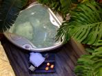 The spa for those relaxing moments