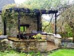 Pergola, rear garden