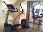 Gym (and sauna)