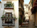 Javea old town - full of narrow streets and tapas bars