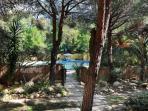 piscina riservata ad uso esclusivo degli ospiti