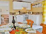 dining kitchen with all you need to enjoy your holiday,