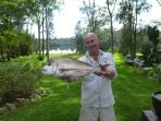 Caught in Jervis bay cooked on the BBQ at Streamside yum yum