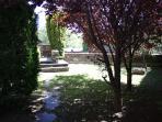 Jardín privado de la vivienda