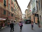 Rolli Palace World Heritage Site in Genoa city