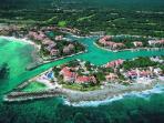 Aerial View of Puerto Aventuras