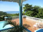 Another from the verandah, the lovely almond tree has since been trimmed back to expand the sea view
