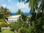 garden view of our Villa