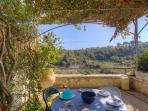 Sitting area with great view - feel the Cretan nature!
