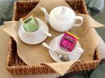 Tea For Two! Tea lovers will find a treat waiting for them!