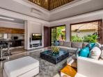 Villa Nilaya - Living Area with 3D TV