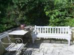 Relaxing outdoor area