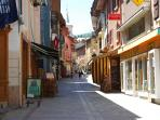 Main Street in Bourg St Maurice
