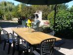 Terrace for al-fresco dining