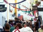 Main Street During a Fiesta