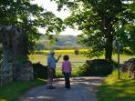 One of the delightful local walks