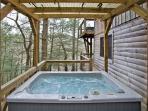 Hayloft Hot Tub