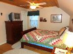 Peaceful Hollow Loft Bedroom