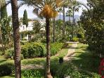 The tropical gardens