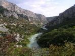 Gorge du Verdon (45 mins drive east)