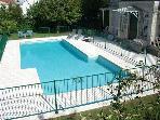 14 meter fenced swimming pool