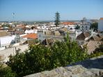 View over Tavira taken from the Castle