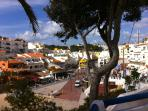 Carvoeiro square by the beach, a delightful atmosphere in the evening