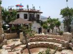 Kalkan Centre within 15 min walk with it's many restaurants, boutiques and gift shops.