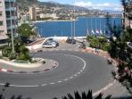 Famous hair-pin bend Monaco Grand Prix, only 25 minutes by train