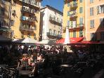 Place Rosetti in the old town