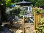 Garden Decked Patio area
