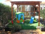 Childrens Sheltered Play Area