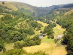 Cycle or walk through spectacular Monsal Dale along The Monsal Trail.