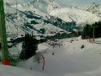 A view over Les Arcs1800