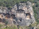 Dalyan's famous rock tombs