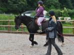 Childrens riding lessons