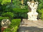 Bali Sea Villas - North Bali. View to the Villa entrance with Ganesha, A true paradise here.