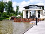 Nearby spa, hotel and boating lake (5mins walk)