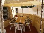 House terrace - Hausterrasse - Terrazza de la casa