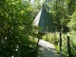 Hoppus - tipi @ Crafty Camping