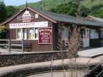 The Ratty Train Station, Dalegarth