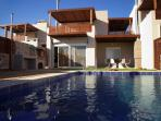 Pool area with sun deck,bbq,outdoor facilities etc...
