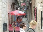 Dubrovnik old town - narrow streets
